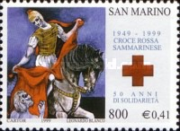 [The 50th Anniversary of the San Marino Red Cross, Typ BEY]