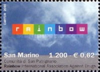 [The 5th Anniversary of the Anti Drugs Association Rainbow, type BGI]