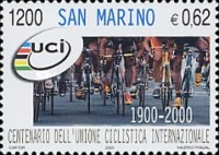 [The 100th Anniversary of the International Cycling Union, type BGP]