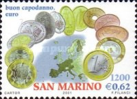 [Introduction of Euro Coins and Banknotes, Typ BJT]
