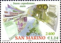 [Introduction of Euro Coins and Banknotes, Typ BJU]