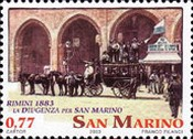 [The 200th Anniversary of Rimini-San Marino Post Carriage, type BON]
