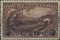 [Death of St. Francis of Assisi Stamps of 1928 Surcharged, type BP1]