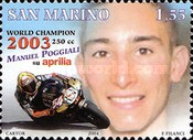 [Motorcycling - Manuel Poggiali World Champion 250cc Class, 2003, Typ BPT]