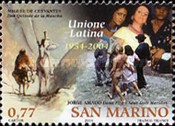 [The 50th Anniversary of Unione Latina, Typ BPX]