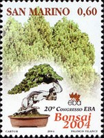 [Trees - The 20th Anniversary of European Bonsai Association, Typ BPZ]