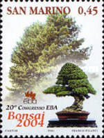 [Trees - The 20th Anniversary of European Bonsai Association, Typ BQA]