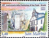 [The 450th Anniversary of Sao Paolo, Typ BQR]