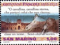 [The 150th Anniversary of the Birth of Giovanni Pascoli, 1855-1912, Typ BTB]