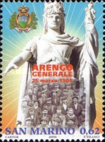 [The 100th Anniversary of the Regular Meeting of the Heads of Great  Families Arengo, Typ BUA]