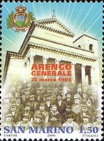 [The 100th Anniversary of the Regular Meeting of the Heads of Great  Families Arengo, Typ BUB]