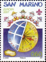 [EUROPA Stamps - The 100th Anniversary of Scouting, Typ BWA]