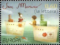 [EUROPA Stamps - Writing Letters, Typ BXS]