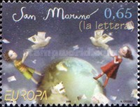 [EUROPA Stamps - Writing Letters, Typ BXT]