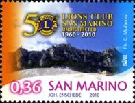 [The 50th Anniversary of the San Marino Lions Club, Typ CBL]