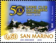 [The 50th Anniversary of the San Marino Lions Club, Typ CBM]