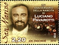 [The 75th Anniversary of the Birth of Luciano Pavarotti, Typ CBY]