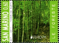 [EUROPA Stamps - The Forest, Typ CCM]