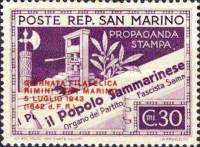 [Day of the Stamp - No.262-263 Overprinted, Typ CD]