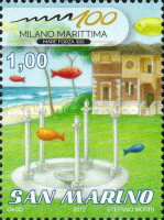 [The 100th Anniversary of Milano Marittima, type CDS]