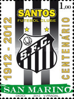 [Football Clubs - The 100th Anniversary of Santos Futebol Clube, Typ CEB]