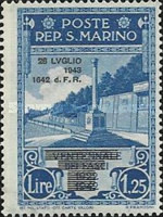 [Not Issued Edtion Overprinted - 28 LUGLIO 1943-1642 d. F. R ., Typ CF]
