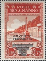 [Not Issued Edtion Overprinted - 28 LUGLIO 1943-1642 d. F. R ., Typ CF1]
