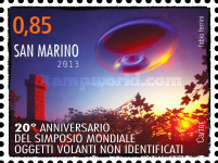 [The 20th Anniversary of the World Symposium on UFO's, Typ CFL]