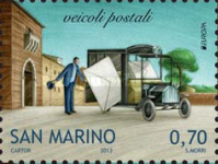 [EUROPA Stamps - Postal Vehicles, Typ CFN]