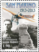 [The 100th Anniversary of the Gianni Widmer Landing, Typ CFP]