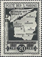 [Not Issued Edtion Overprinted - 28 LUGLIO 1943-1642 d. F. R ., Typ CG7]