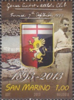 [The 120th Anniversary of Genoa Cricket and Football Club, Typ CRG]