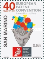[The 40th Anniversary of the EPC - European Patent Convention, Typ CRJ]