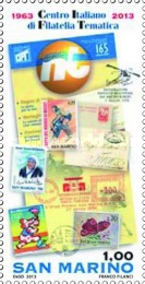 [The 50th Anniversary of the CIFT - Italian Thematic Philately Centre, Typ CRR]