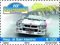 [The 10th Anniversary of Rally Legend, Typ CRW]