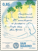 [The 25th Anniversary of the Soroptimist International Single Club San Marino, Typ CSH]