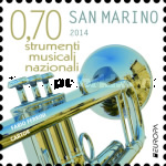 [EUROPA Stamps - Musical Instruments, Typ CSJ]