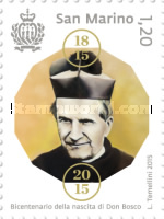 [The 200th Anniversary iof the Birth of St. John Bosco, 1815-1888, Typ CUW]