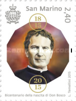 [The 200th Anniversary iof the Birth of St. John Bosco, 1815-1888, Typ CUX]