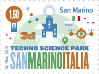[Techno Science Park San Marino-Italia - Joint Issue with Italy, Typ CUY]