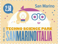 [Techno Science Park San Marino-Italia - Joint Issue with Italy, Typ CUZ]