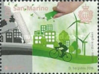 [EUROPA Stamp - Think Green, Typ CVC]