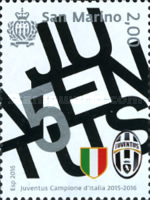 [Football - Juventus Italian Champion 2015-2016, Typ CVN]