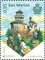 [EUROPA Stamps -  Palaces and Castles, Typ CXB]