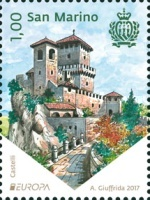 [EUROPA Stamps -  Palaces and Castles, Typ CXC]