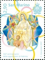 [The 100th Anniversary of the Apparitions of Fatima, Typ CXF]