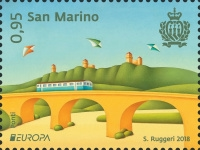[EUROPA Stamps - Bridges, Typ CYF]