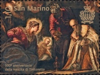 [Paintings - The 500th Anniversary of the Birth of Tintoretto, 1518-1594, Typ CZI]