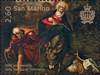 [Paintings - The 500th Anniversary of the Birth of Tintoretto, 1518-1594, Typ CZJ]