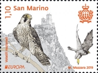 [EUROPA Stamps - National Birds, type CZQ]